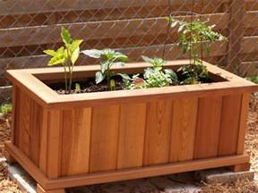 cedar planter box plans planter boxes