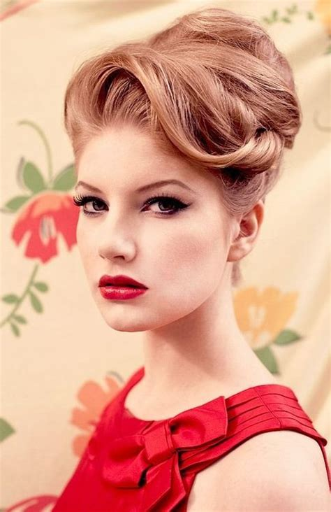 old upstyle hair dos 25 best 1950s updo ideas on pinterest 50s hairstyles