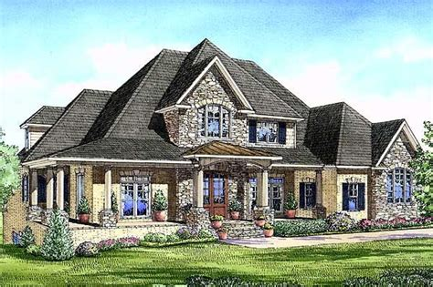 euro house luxurious european home plan