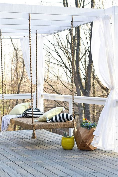 swing designs for home 21 best diy porch swing bed ideas and designs for 2017