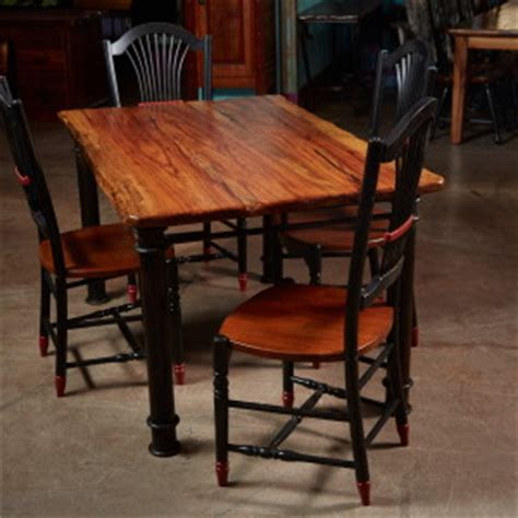 Hawkins Furniture by 6 Pecan Dining Table