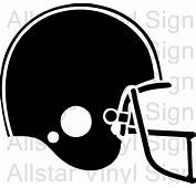 Football Helmet Vinyl Decal