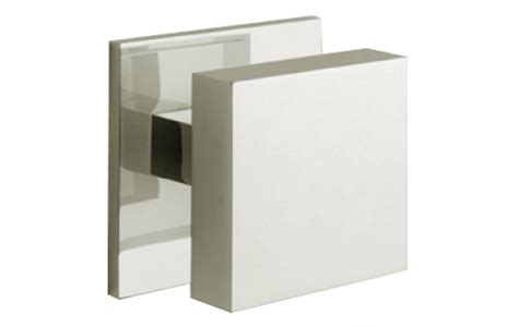 Square Door Knobs by Centre Door Knob Square Edge 76 Mm Architectural