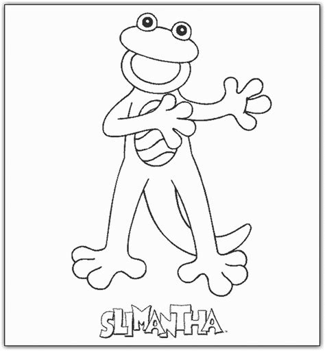 Zoboomafoo Coloring Pages zoboomafoo coloring pages for coloringpagesabc