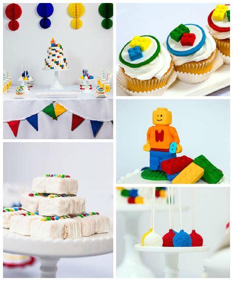 party themes modern kara s party ideas modern lego themed birthday party via