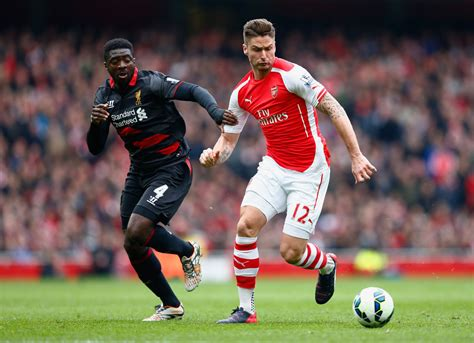 arsenal liverpool arsenal v liverpool premier league zimbio