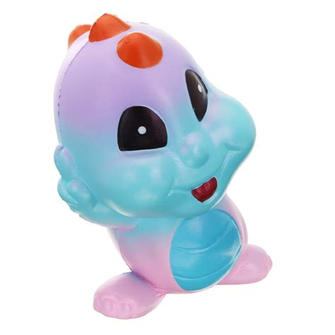 Termurah Squishy Baby Dino yunxin squishy dinosaur baby shiny sweet rising with packaging collection gift decor