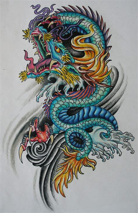 tattoo oriental art asian dragon tattoo flash by bekah bass ink shots