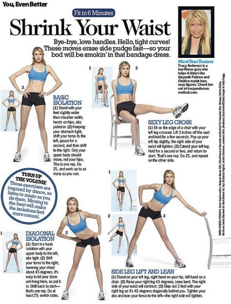 trainer tracy workout sheets