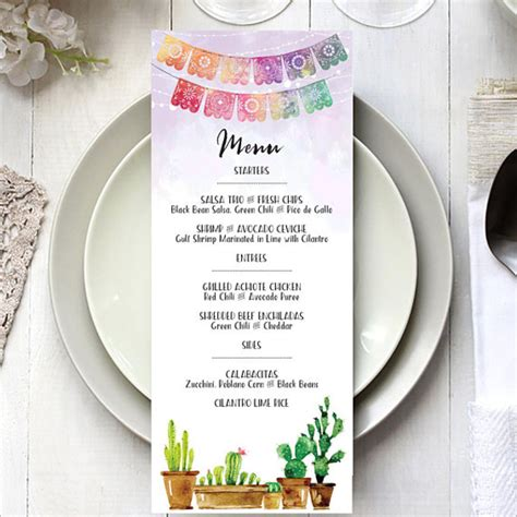 Menu Card Template Photoshop by 37 Birthday Menu Card Templates Free Psd Word Design Ideas