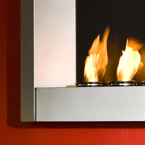 Gel Fuel Wall Mount Fireplace by View Larger