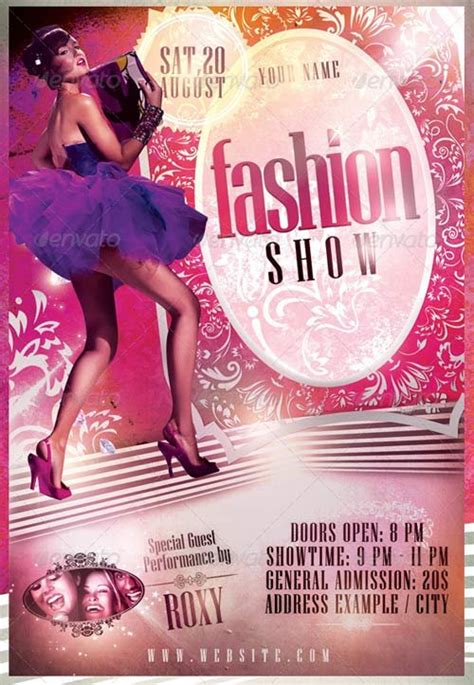 free templates for fashion show flyers kids fashion show poster www imgkid com the image kid