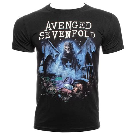 T Shirt Nightmare avenged sevenfold recurring nightmare t shirt a7x metal