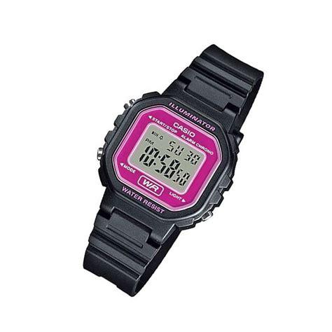 Casio La20wh 4a 楽天市場 casio カシオ la 20wh 4a la20wh 4a スタンダード デジタル ブラック 215 ピンク