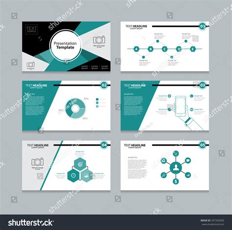powerpoint templates graphic design abstract vector business presentation template slides
