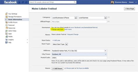 fb username facebook finally lets administrators change usernames