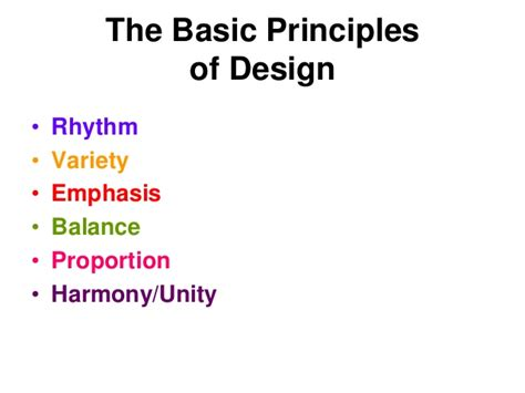 how to use basic design principles to decorate your home basic design principles