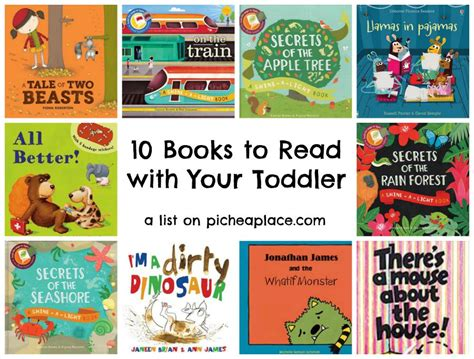 10 books to read with your toddler