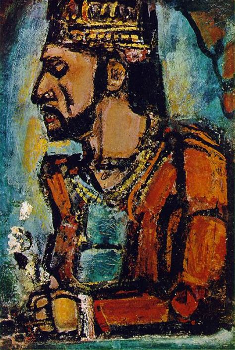 painting now now and then georges rouault