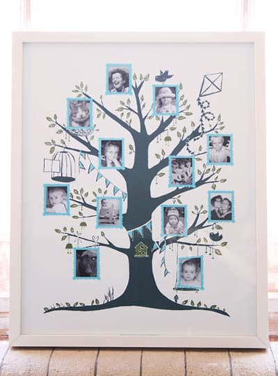 My Family Tree Include Family Tree Poster And 100 Stickers familytree