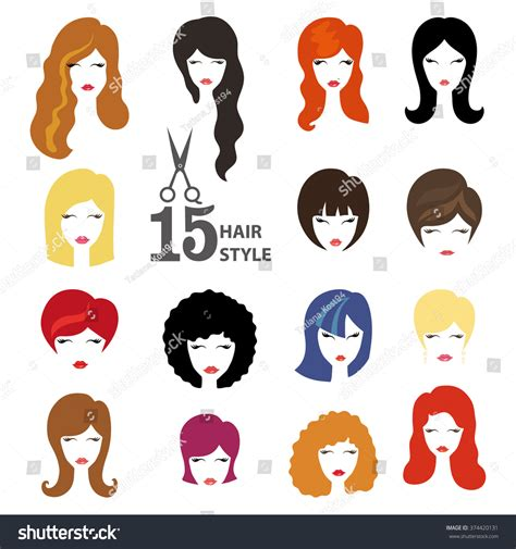 Hairstyle Tools Designs For Silhouette by Hairstyle Silhouettewomangirlfemale Hairfacebeauty