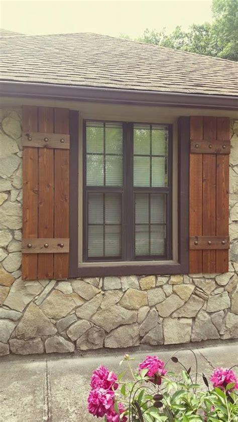 cedar z shutters stained cedar shutters exterior shutters board and batten