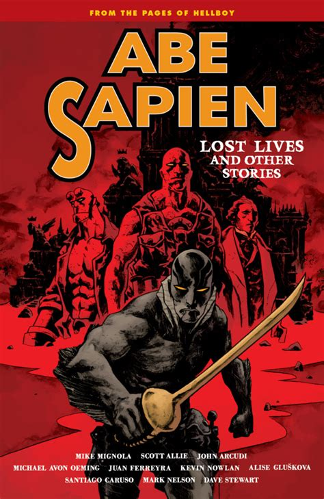 abe sapien and terrible volume 1 books abe sapien lost lives and other stories 1 volume 9 issue