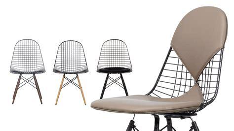sedie vitra sedia in metallo dkw collezione wire chair by vitra design