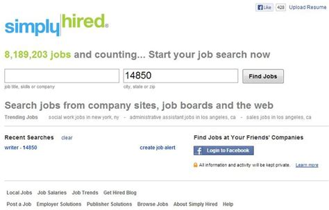 the secrets to getting hired the best job search sites search site