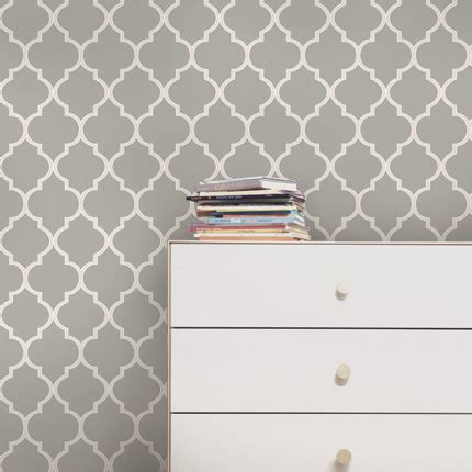 moroccan wallpaper cool dark grey peel and stick 301 moved permanently