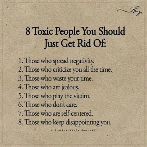toxic people     rid  toxic people