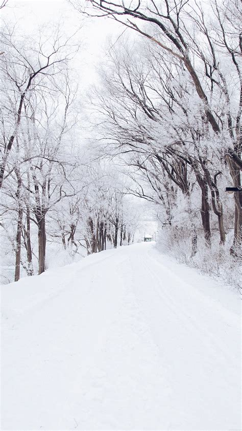 iphone 6 wallpaper pinterest winter winter road romantic nature snow white photography