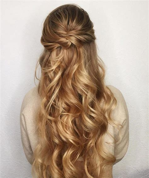 hairstyles half up half down how to 11 gorgeous half up half down hairstyles