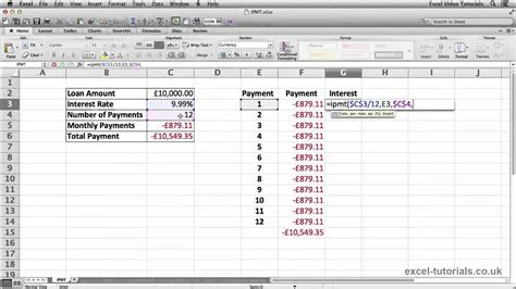 excel tutorial using the if and and or functions microsoft excel tutorial ipmt function youtube