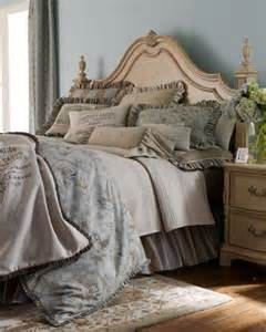 French Bed Linens - french laundry home caroline bed linens queen striped dust skirt traditional bedskirts by