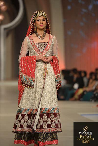 Maxi Zaenab Maroon pakistan bridal couture week 2013 zainab chottani