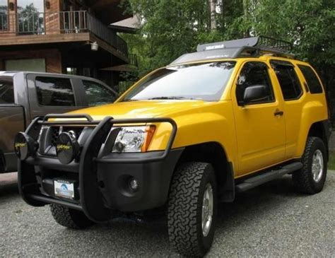 yellow nissan truck nissan xterra offroad car cars design vehicles