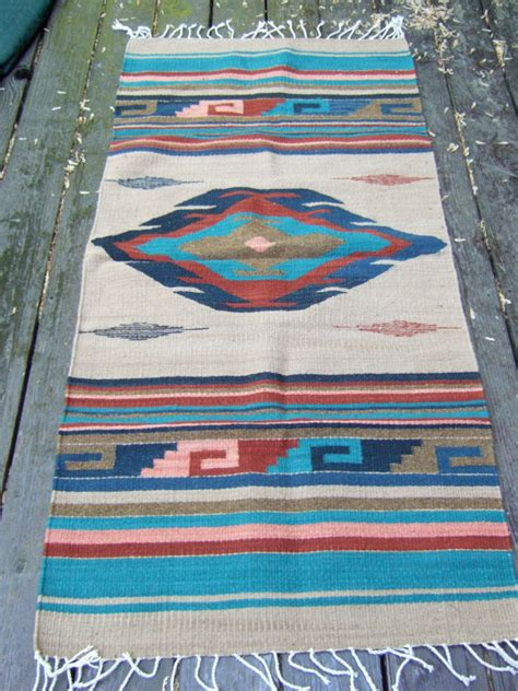 American Indian Style Rugs by Vintage American Indian Style Throw Rug By