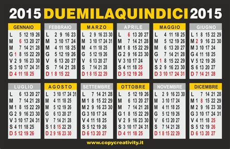 I Calendario 2015 Alcuni Calendari In Pdf Per Il 2015