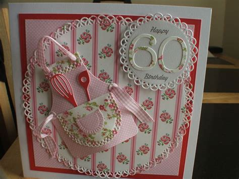 Handmade 60th Birthday Card Ideas - 60th birthday card handmade cards 60th