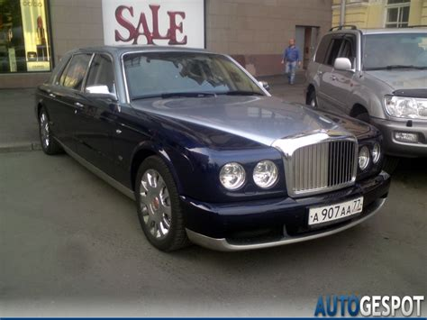 Bentley Arnage Rl Mulliner Limousine 11 January 2011