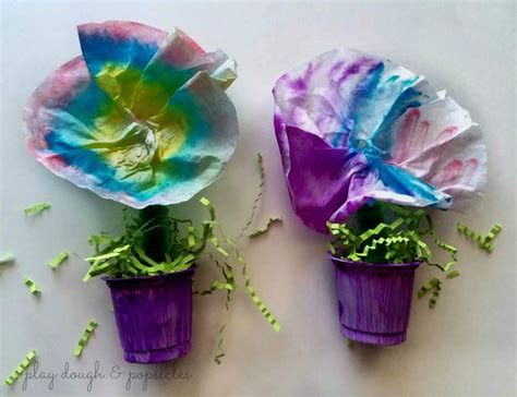 flower pot craft for inspired colorful flower pot craft family crafts