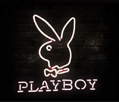 Home Decor Floral by Playboy Rabbit Logo Beer Bar Neon Light Sign 17 Quot X 16