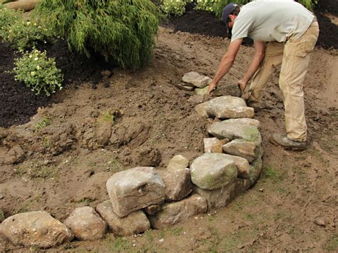 Raised Rock Garden How To Build A Raised Bed Berry Garden How Tos Diy