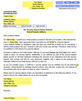Demand Letter Nevada Security Deposit Demand Letter To Your Landlord