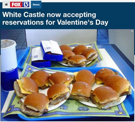 s day at white castle white castle now accepting reservations for s