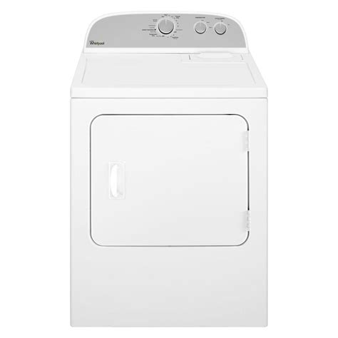 whirlpool 7 0 cu ft gas dryer in white wgd4815ew the