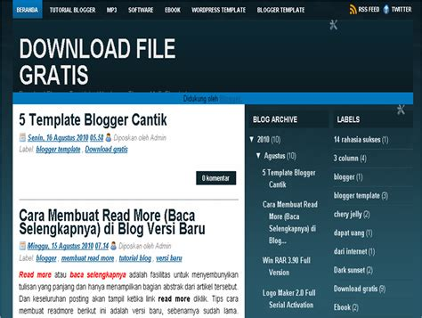 download mp3 five minutes selamat tinggal versi lama download file gratis 5 template blogger cantik 2010