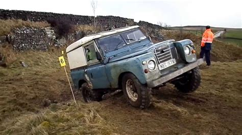 Land Rover Series 3 Off Road Rtv Trial Feb 14 West