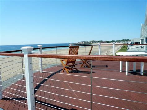 Ultra Decking by Ultra Tec Deck Cable Railing Modern Deck By Ultra